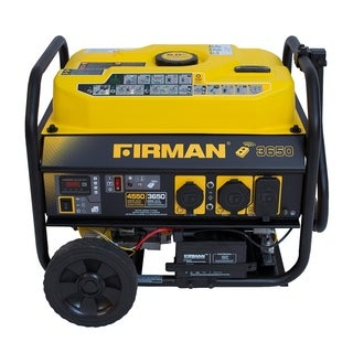 Firman P03603 3650/4550 Watt Portable Remote Start Generator With Wheel Kit