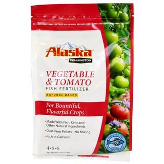 Alaska 100504561 3-pound Vegetable & Tomato Fish Fertilizer 4-6-6