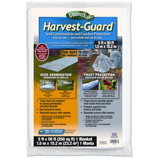 Gardeneer HG-50 5 feet x 50 feet Harvest-Guard Floating Garden Cover