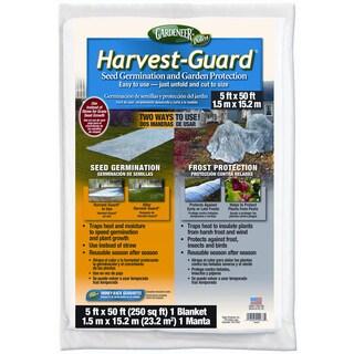 Gardeneer HG-50 5 feet x 50 feet Harvest-Guard Floating Garden Cover