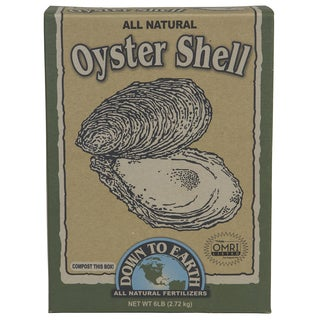 Down to Earth 07814 6-pound All Natural Oyster Shell Flour