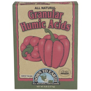 Down to Earth 07827 5-pound All Natural Granular Humic Acids