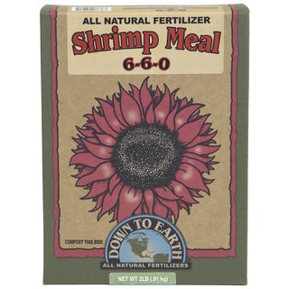 Down to Earth 07838 2-pound Shrimp Meal All Natural Fertilizer 6-6-0