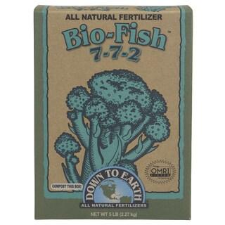 Down to Earth 07842 5-pound Bio-Fish All Natural Fertilizer 7-7-2