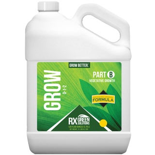 Rx Green Solution RXPROGRWB128 128-Ounce 0-1-2 Part B Grow Vegetative Growth