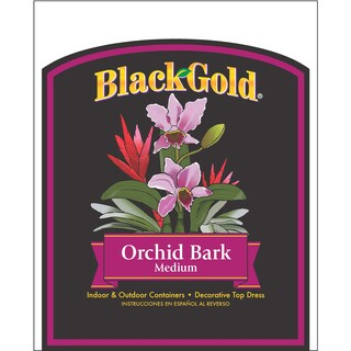 Black Gold 1411402 8.00QTP 8 Quart Fine Orchid Bark Mix