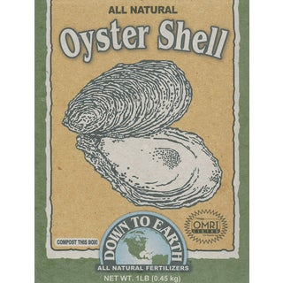 Down to Earth 17814 1-Pound Oyster Shell Flour Fertilizer Mix