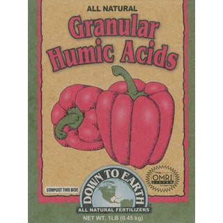 Down to Earth 17827 1-Pound Granular Humic Acids Fertilizer Mix