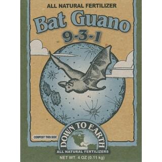 Down to Earth 17886 1/4-Pound 9-3-1 Bat Guano Fertilizer Mix