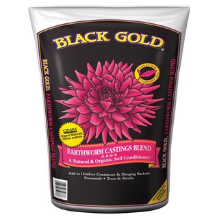 Black Gold 1490302 8 QT P 8 Quart Earthworm Castings Blend