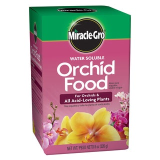 Miracle Gro 1001991 8-Ounce Miracle-Gro Water Soluble Orchid Food 30-10-10