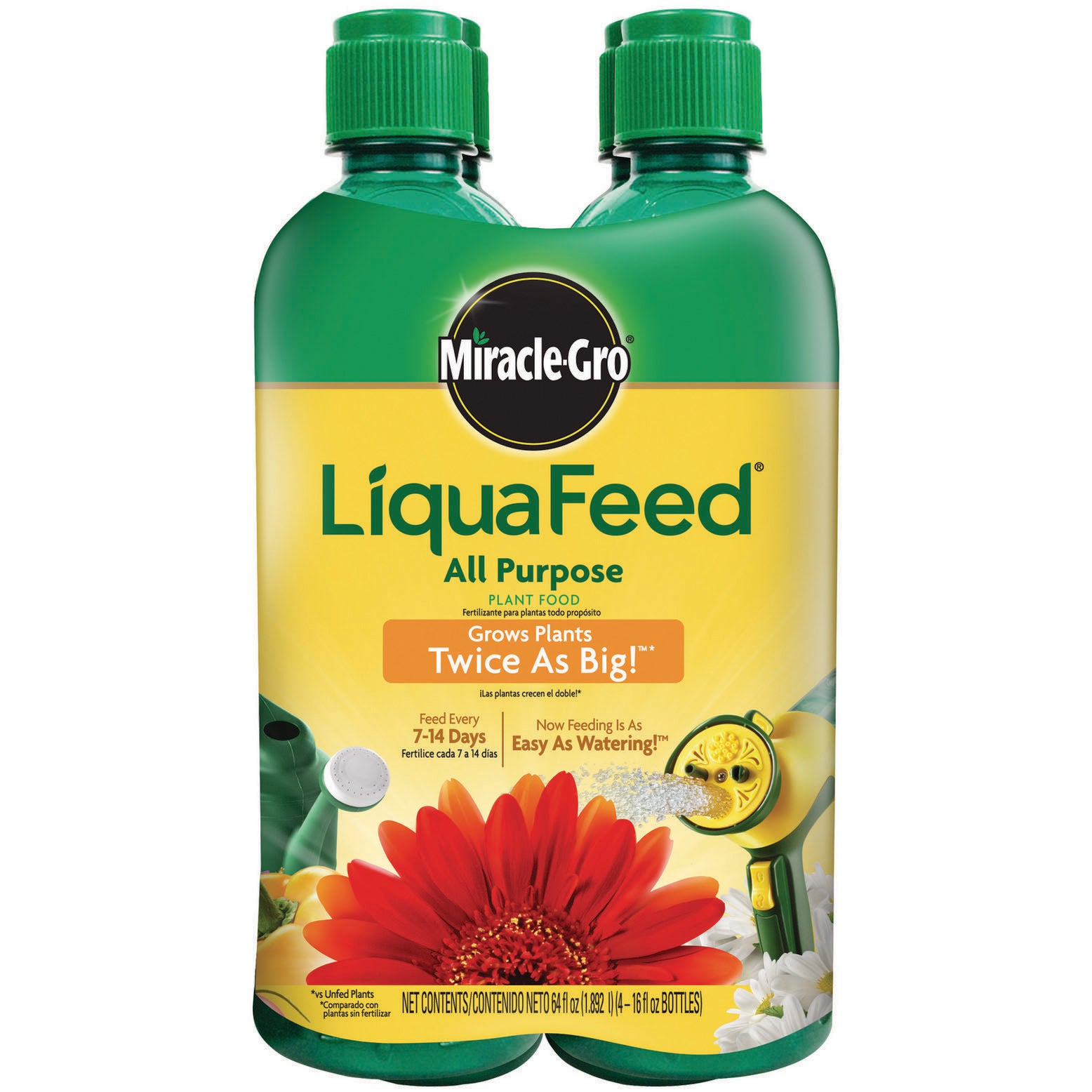 Miracle Gro 1004325 16-Ounce LiquaFeed Plant Food Refill ...