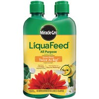 Miracle Gro 1004325 16-Ounce LiquaFeed Plant Food Refill Bottles 12-4-8 4-Count