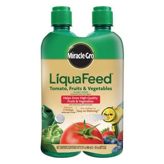 Miracle Gro 1004402 16-Ounce LiquaFeed Tomato Fruit & Vegetable Plant Food 2-Count