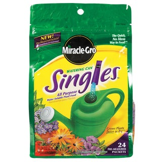 Miracle Gro 1013203 Watering Can Singles All Purpose Plant Food 24-8-16 24-Count