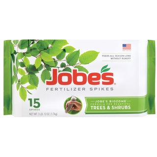 Jobes 01610 Tree Fertilizer Spikes 16-4-4 15 Pack