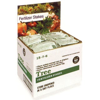 Jobes 2710 160 Piece Domestic Bulk Tree 15-3-3 Fertilizer Stakes