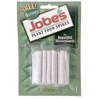 Jobes 5001T 50 Pack Houseplant Plant Food Spikes 13-4-5