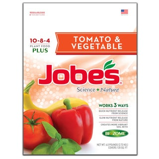 Jobes 59066 6-pound Tomato & Vegetable Synthetic Fertilizer