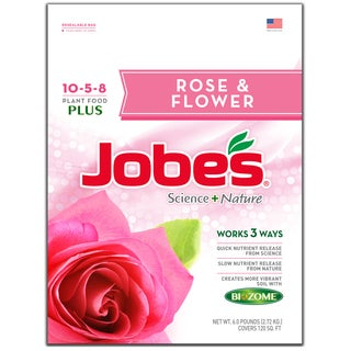 Jobes 59466 6-pound Rose & Flower Synthetic Fertilizer