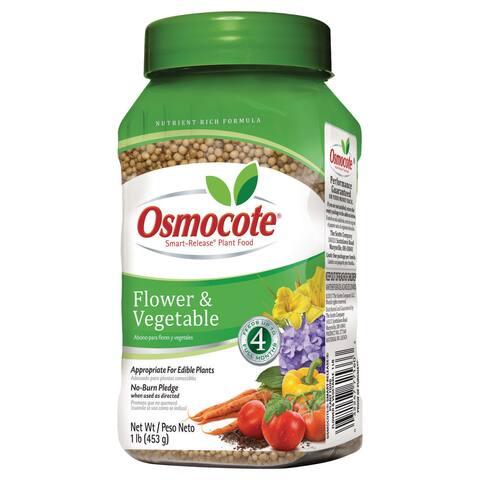Osmocote 277160 1-pound Flower & Vegetable Smart Release Plant Food 14-14-14