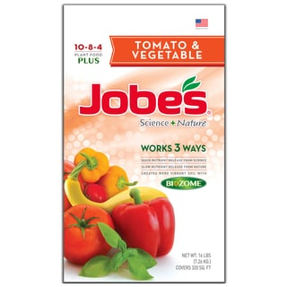 Jobes 59023 16-pound Tomato & Vegetable Synthetic Fertilizer
