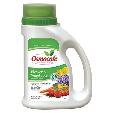Osmocote 277860 4.5-pound Osmocote Smart-Release Plant Food Flower/Vegetable