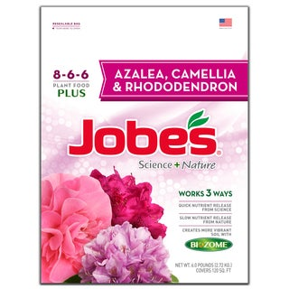 Jobes 59866 6-pound Azalea, Camellia & Rhododendron Synthetic Fertilizer