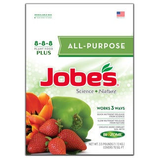 Jobes 59536 3-1/2-pound All Purpose Synthetic Fertilizer