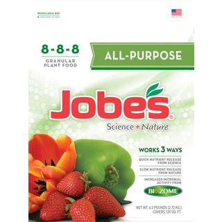 Jobes 59566 6-pound All Purpose Synthetic Fertilizer