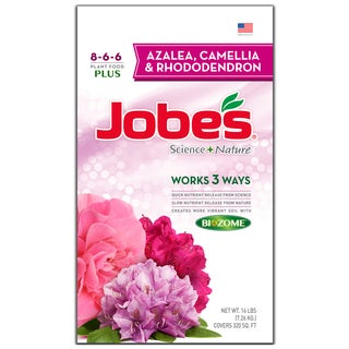 Jobes 59823 16-pound Azalea, Camellia & Rhododendron Synthetic Fertilizer