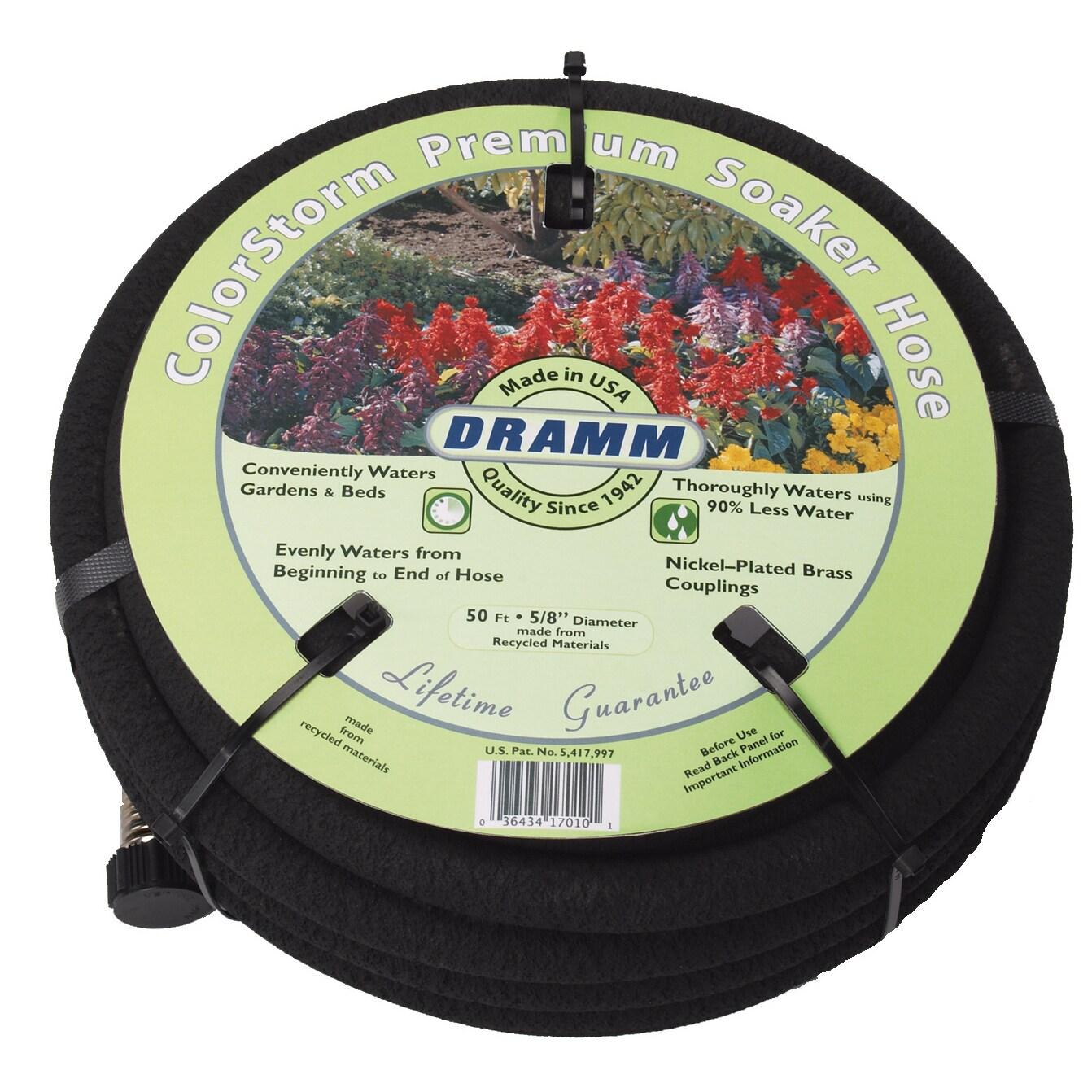Dramm 10-17020 25 feet Black ColorStorm Premium Soaker Ho...