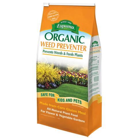 Espoma CGP6 Organic Weed Preventer Plus Plant Food