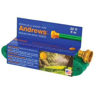 Andrews Sprinkler & Soaker Hose 70-12350 20 feet Green Sprinkler & Soaker Hose