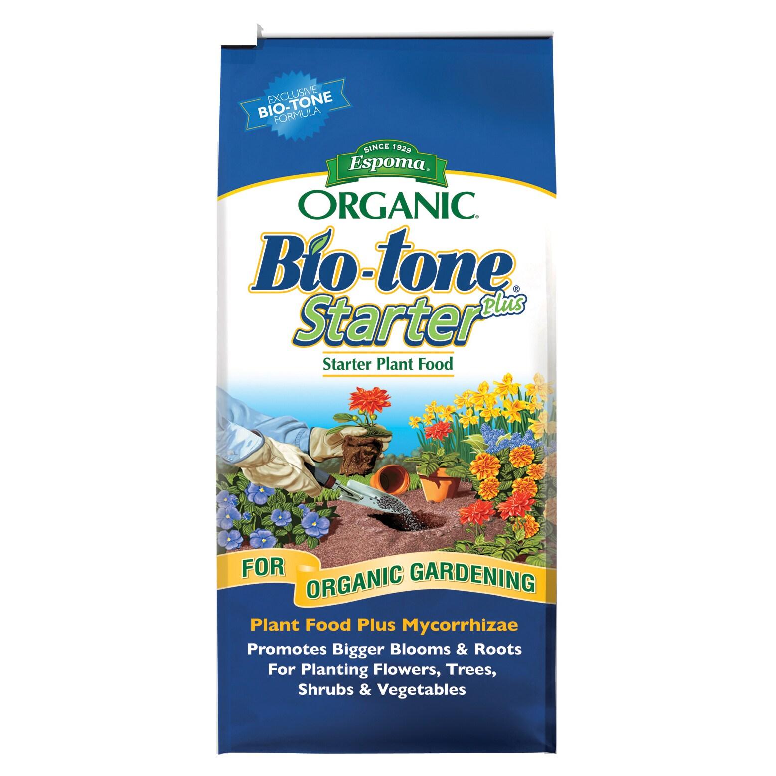 ESPOMA BTSP8 8-pound Bio-Tone Starter Plant Food Plus (Pl...