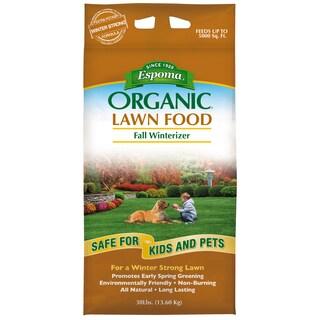 Espoma EOFW30 30-pound Organic Fall Winterizer Lawn Food 8-0-5