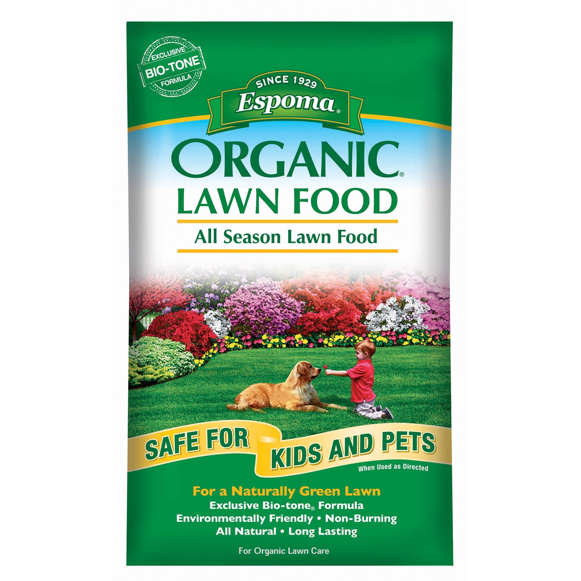 ESPOMA EOLF14 14-pound Organic Lawn Food (Plant Food & Fe...