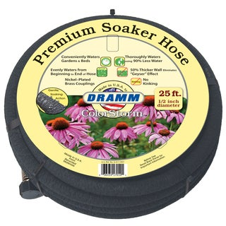 Dramm 10-17051 1/2 inches x 25 feet Soaker Hose