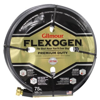 Gilmour 10012075 1/2 inches x 75 feet 8 Ply Flexogen Garden Hose