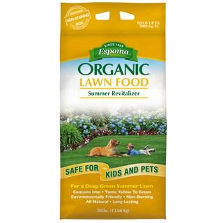 Espoma EOSR30 30-pound Organic Summer Revitalizer Lawn Food