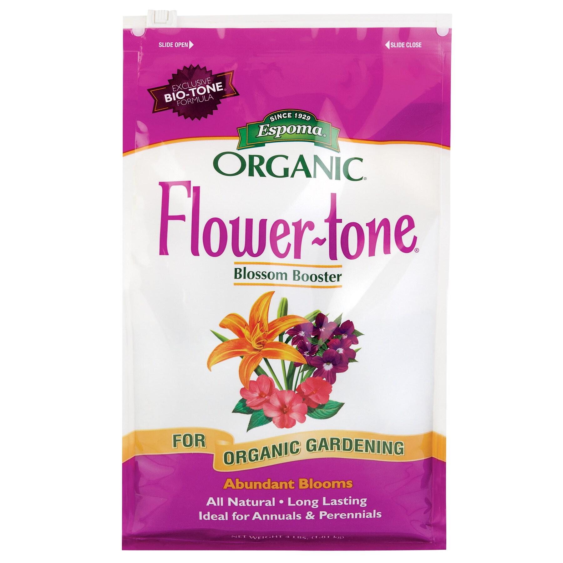 ESPOMA FT4 4-pounds Flower-Tone 3-5-7 Plant Food (Plant F...