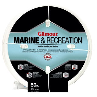 Gilmour 12058050 5/8 inches x 50 feet 5 Ply Marine & Recreation Hose