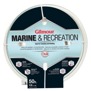 Gilmour 12012050 1/2 inches x 50 feet 5 Ply Marine & Recreation Hose