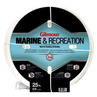Gilmour 12058025 5/8 inches x 25 feet 5 Ply Marine & Recreation Hose