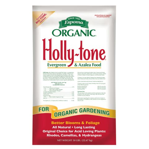 Espoma HT50 50-pound Organic Holly Tone Evergreen & Azalea Food
