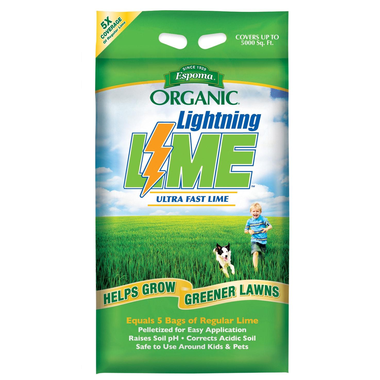 ESPOMA LL30 30-pound Organic Lightning Lime Lawn Grower (...