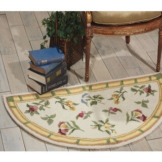 Nourison Country Heritage Ivory Area Rug (2' x 4' Slice)
