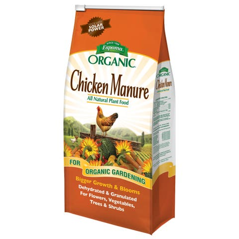 Espoma Organic GM25 25-pound Organic Chicken Manure Plant Food
