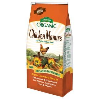 Espoma Organic GM25 25-pound Organic Chicken Manure Plant Food
