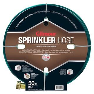 Gilmour 270142 50 feet Flat Three Tube Sprinkler/Soaker Hose